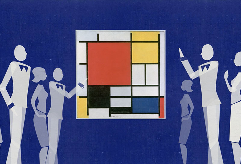 Blue World Mondriaan 02 Intro